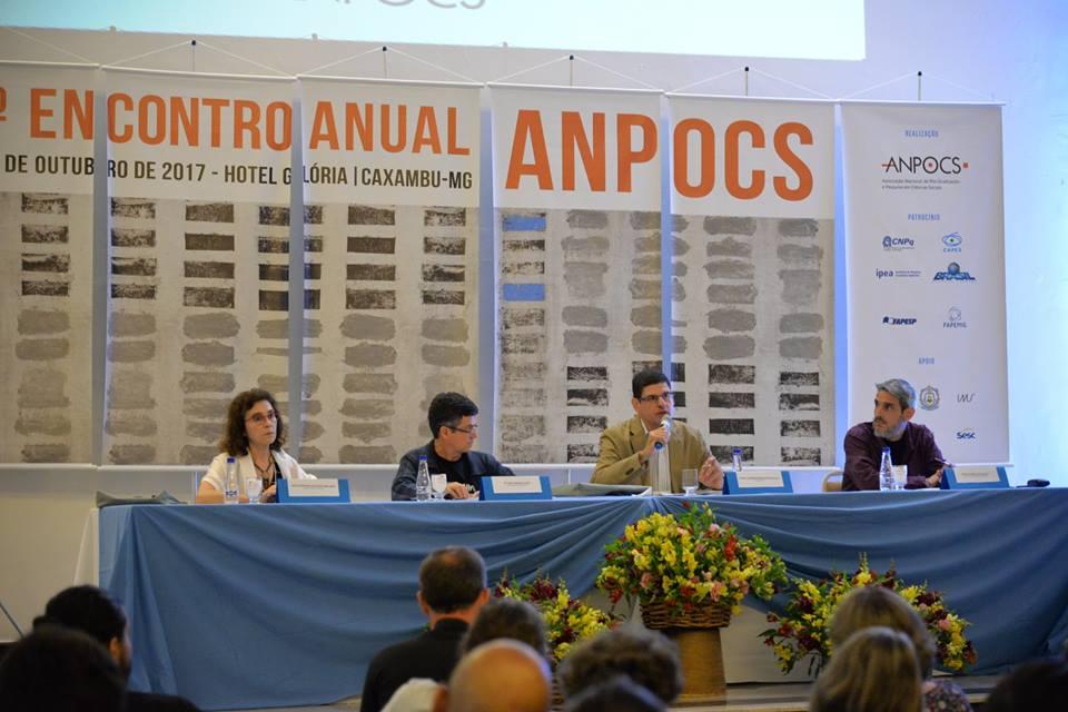 41º Encontro Anual da ANPOCS (Associação Nacional de Pós-Graduação e Pesquisa em Ciências Sociais), em Caxambu, Minas Gerais - 2017. Foto: ANPOCS