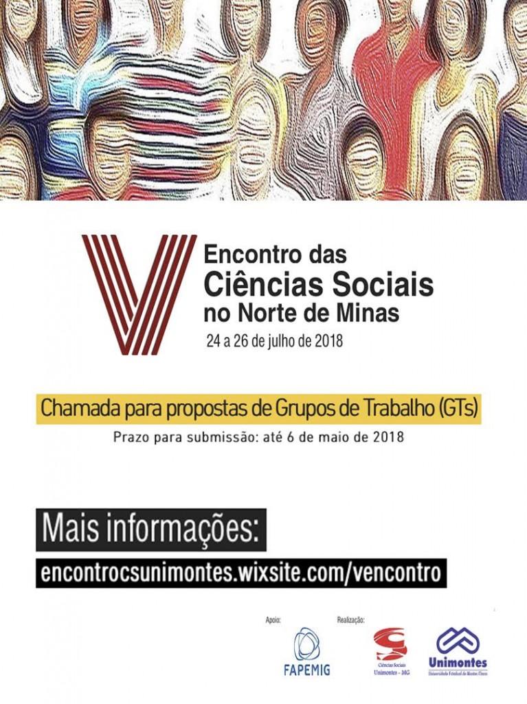 V ENCONTRO SOCIAIS NORTE DE MG