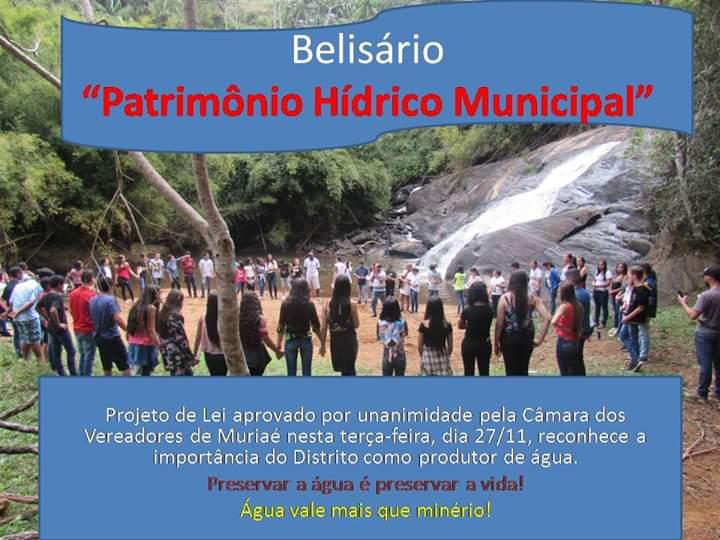 Belisário  Patrimônio Hídrico Mundial