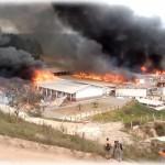 Incendio no alojamento 2